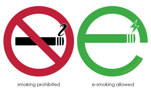E-Smoking Allowed