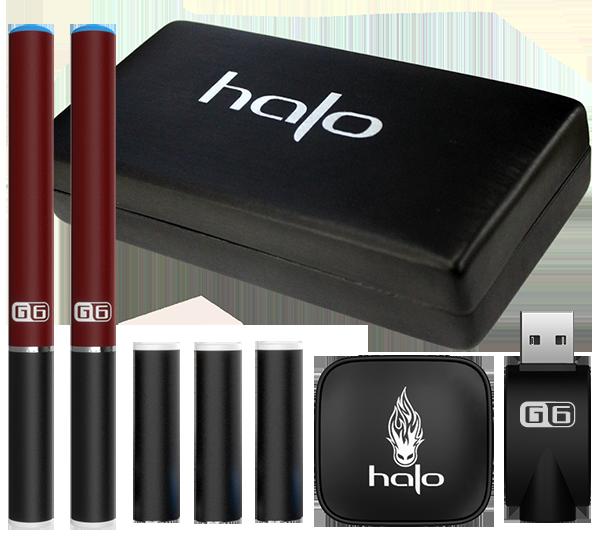 HaloCigs Starter Kit