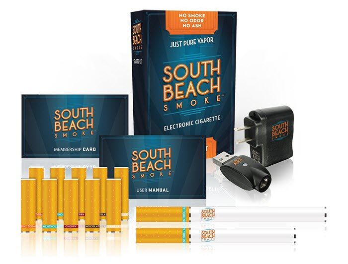 South Beach Smoke E-Cig Kit