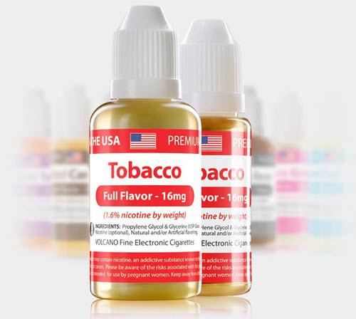 Volcano E-Juice Made in USA