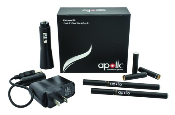 Apollo E-Cigs Extreme Kit Black
