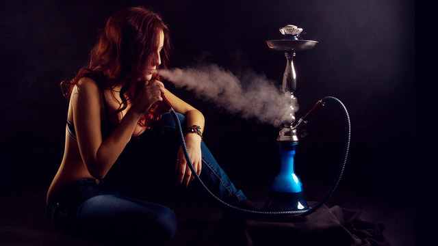 Girl With A Hookah