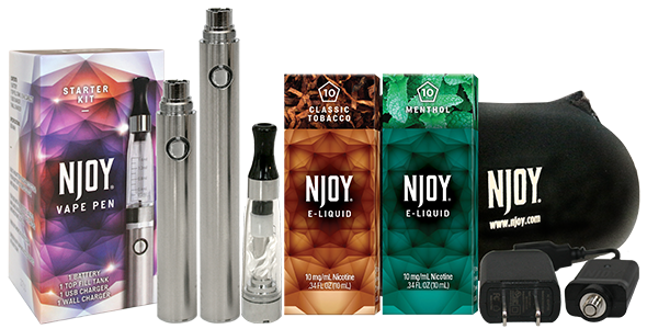 NJOY vaping products