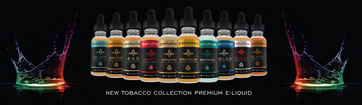epuffer e-liquid tobacco premium collection