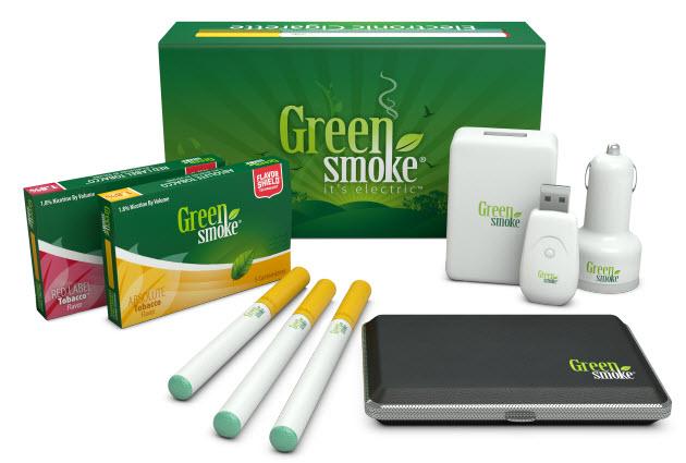 greensmoke e-cigarettes starter kit