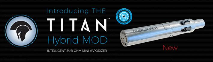 titan hybrid mini mod sub ohm vaporizer