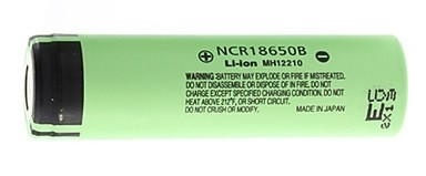 Panasonic 3400mAh Battery NCR18650B MH12210