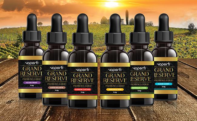 VaporFi new Vape Liquid Flavors