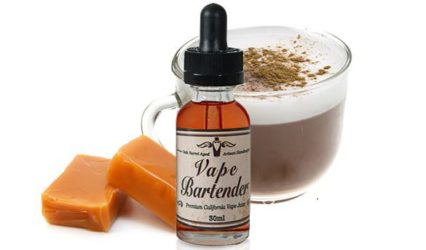 Vape Bartender Irish Cappuccino E-Juice Review