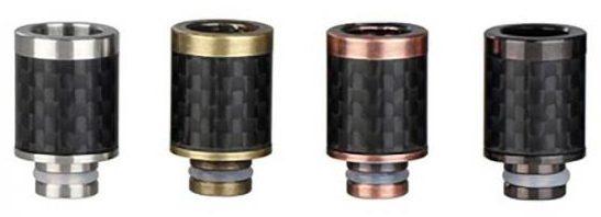 VaporFi Carbon Fiber Drip Tip Wide Bore