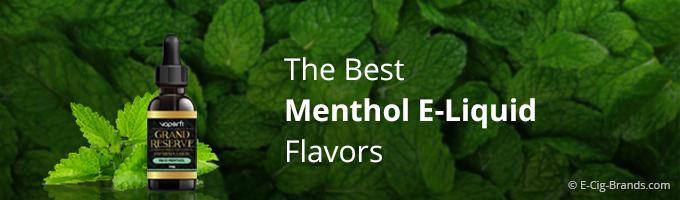 the best menthol vape liquid flavors