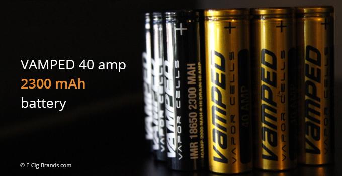 Longest lasting box mod battery 2300mah 40 amp
