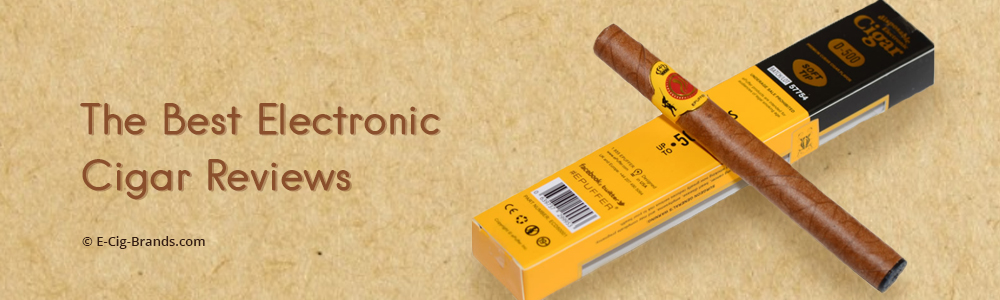 the best electronic cigar and e-cigar reviews