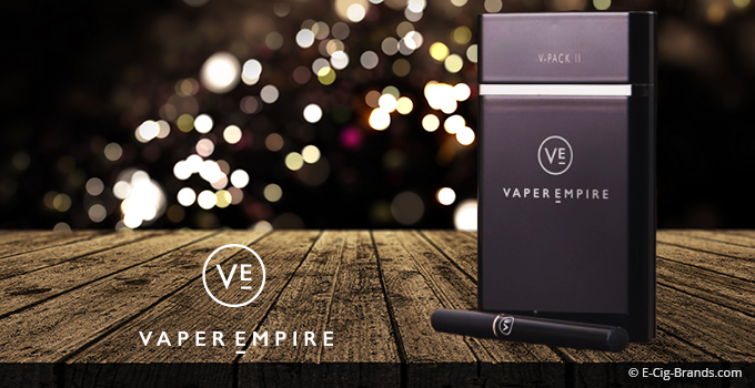 vaper empire V-Pack II Series electronic cigarette review