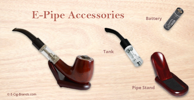 vaping e-pipe accessories