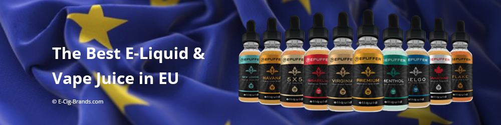 he Best E-Liquid & Vape Juices in EU - 2019 | E-Cig Brands
