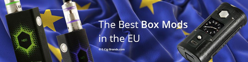 the best box mods in the EU