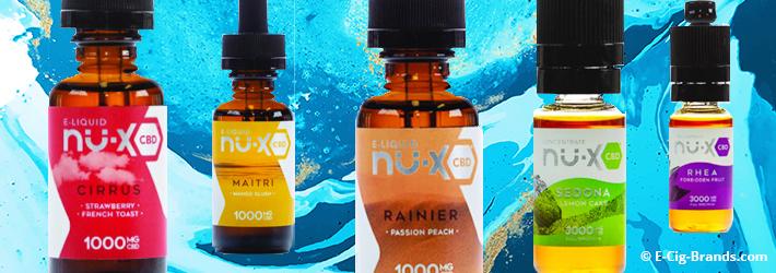 Nu-X CBD Review: Tinctures, Concentrates & E-Juice | E-Cig